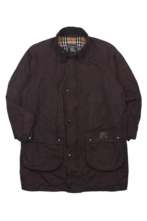 BURBERRYS WAXED COAT