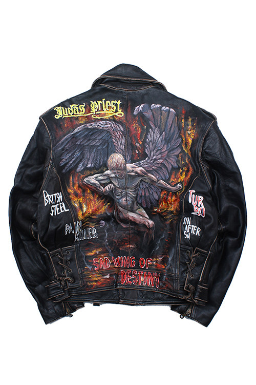JUDAS PRIEST [GENUINE LEATHER]