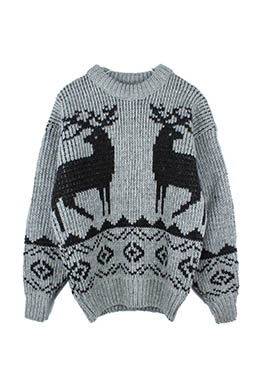 CANADA PATTERN SWEATER