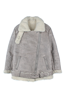 GREY SHERPA JACKET