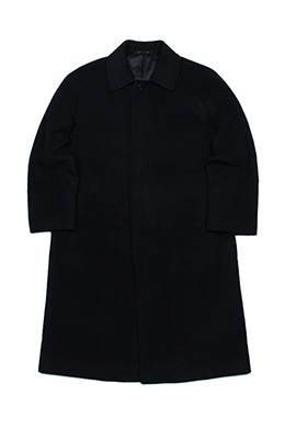 HIDDEN BUTTON COAT
