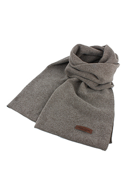 BROWN REVERSIBLE SCARF
