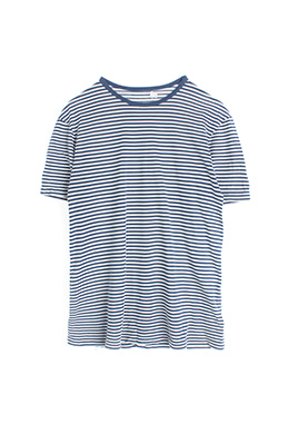 BLUE STRIPE TEE
