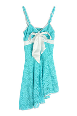 RIBBON SLIP DRESS