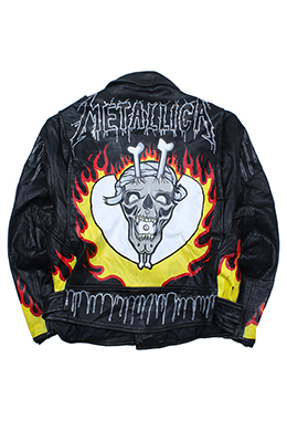 METALLICA [GENUINE LEATHER]