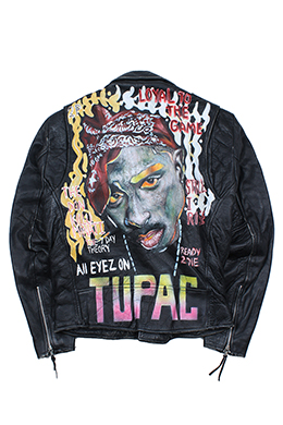 TUPAC SHAKUR [GENUINE LEATHER]