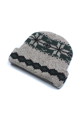 PATTERNED TOQUE
