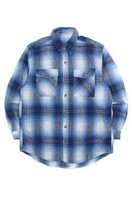 CHECK PATTERNED FLANNEL SHIRT