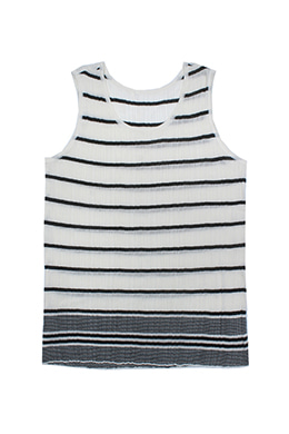 STRIPED SLEEVELESS