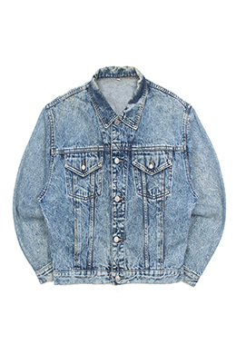 ACID WASHED TRUCKER JACKET